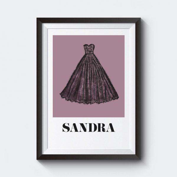 aa7a298029be Det vankas bröllop personlig bröllopstavla   Kreativa Posters