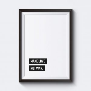 Tavlor med text. Designa en egen tavla skriv in egen text.