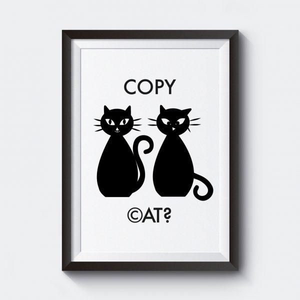 ej-personlig-poster-copy-cat