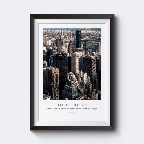 personlig-tavla-new-york-city-skyskrapor