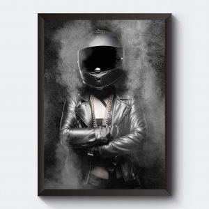 Personliga tavlor med motiv i svartvitt