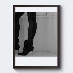 Personliga tavlor i svartvitt