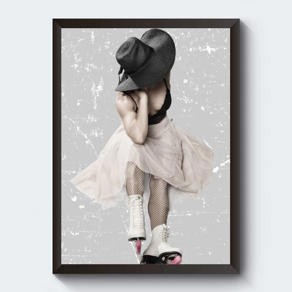 Fotokonst poster isprinsessa