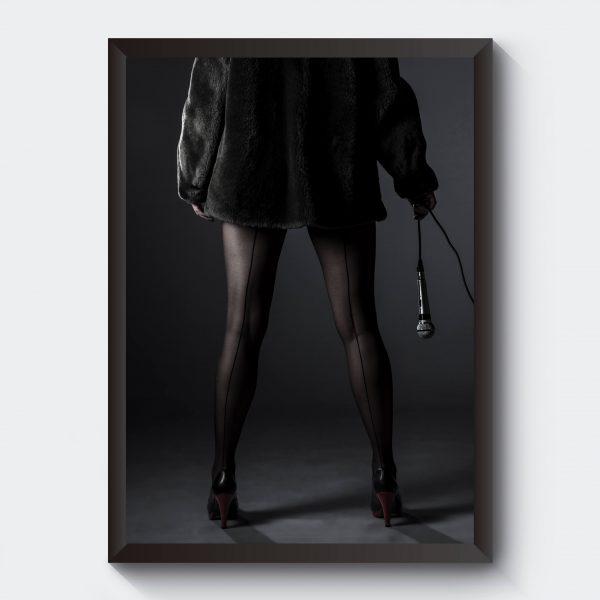 Personliga tavlor fotokonst svartvitt
