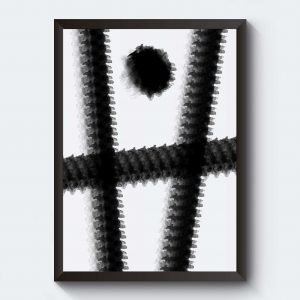 Poster konst abstrakt