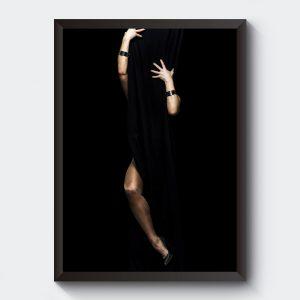Poster kvinna